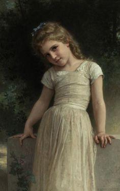 Elpieglerie [Mischievous One] 1895 - William Adolphe Bougereau
