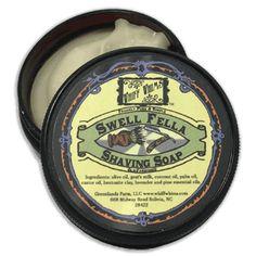 Swell Fella: Old-fashioned Shaving Soap, lavender pine