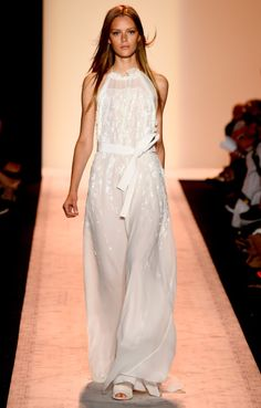 Pretty In White. Obsessed with everything BCBG Max Azria.