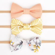 Billy Bibs Bow Set - Butterfly