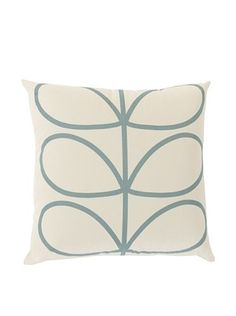 Orla Kiely Duck Egg Down Pillow