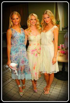 Dresses by Alberta Ferretti. Spring 2012.