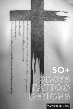 Cross Rib Tattoos, Tribal Tattoos, Cross Shoulder Tattoos, Cross Tattoo For Men, Cross Tattoo Designs, Tattoos Skull, Tattoo Designs Men, Sleeve Tattoos, Clown Tattoo