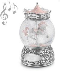 銀の回転木馬 - スノードーム美術館 ♪The Carousel Waltz