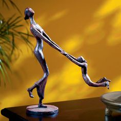 At Play-Mother and Child Statue Available at AllSculptures.com