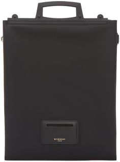 Givenchy Black Leather Document Holder
