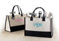 Great Beach Bags Free Personalization With Coupon Code Tote Handbags Monogram
