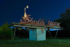 Starlite Drive-In Theatre in Schertz, Texas | Photographer: Noel Kerns - http://www.noelkernsphotography.com