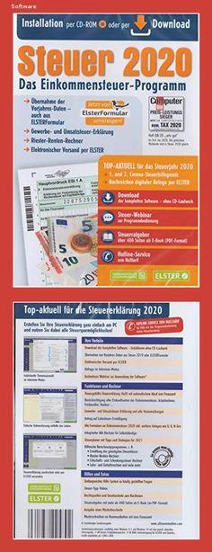 Aldi Steuerprogramm Einkommensteuer 2020 - Steuer 2020 CD Software Neu und OVP - 151a Coron, Software, Der Computer, Hard Disk Drive