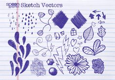 Free Vector Graphics Pack – Doodles and Sketches