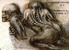 Poltergeist 2 - Vomit Creature by H.R. Geiger