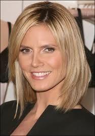 Heidi Klum's hair