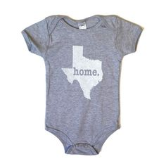 Tell your friends about The Home T!  Texas Home T Onesie