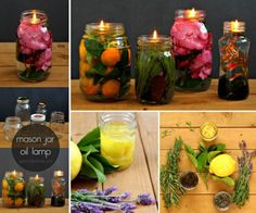 Mason Jar Oil Lamps Are Truly Magical | The WHOot