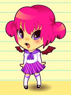How to Draw and Vector a Kawaii Vampire Chibi in Illustrator - Tuts+ Design & Illustration Tutorial Chibi, Character Design, Illustrator Tutorials, Drawings, Illustration Design, Character Design Tutorial, Art Tutorials, Illustrator Cs, Vector Art