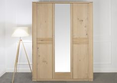 Beautiful wardrobe - functional with self-designed fittings.  Oleo collection designed by Klose #FurnitureWardrobe #WoodenFurniture