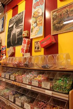 Big Top Candy Shop | Austin, Texas | A must visit; love the old-fashioned soda fountain.