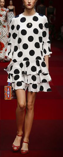 Fresh in polka dots - D + G
