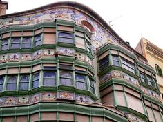 A Modernisme building in Barcelona - 20 Free Things To Do in Barcelona