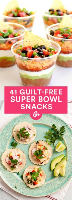 Healthy Super Bowl Snacks You'll Love #healthy #superbowl #recipes http://greatist.com/health/super-bowl-recipes-snacks