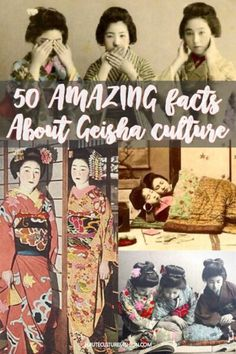 Facts about Geisha / Geisha Culture / Geisha and Maiko / History of Geisha / Geisha facts / Japanese Geisha /  Gion / Geisha in Kyoto / Japan