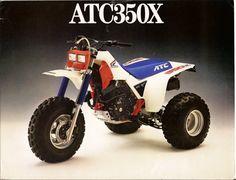 1986 Honda 350x