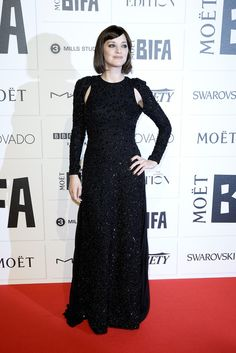 Marion Cotillard in Dior Fall 2015 Haute Couture attends The Moet British Independent Film Awards 2015 on December 6, 2015