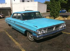 #cars #coches  1964 Ford Galaxie 500.