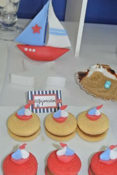 la patisserie bs as's Birthday / Nautical - Photo Gallery at Catch My Party I Party, Party Ideas, Nautical, Birthday Parties, Baby Shower, Santiago, Meet, Food Cakes, Navy Marine