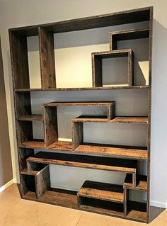 Books are considered as friend by some people, so they spend their free time reading them. They have many in their home for which something is required for keeping them organized. Here is the reclaimed wood pallet bookshelf idea that is not hard to copy and it will look awesome placed in the TV launch.