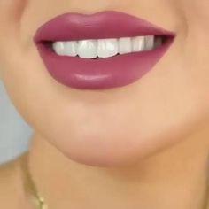 Lip Tutorial, Lip Makeup Tutorial, Lipstick Tutorial, Brown Lipstick Shades, Mauve Lipstick, Eye Makeup Art, Makeup Kit, Beach Makeup, Cute Makeup Looks