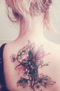 #tattoo #kolibri #coverup #wildcatHH