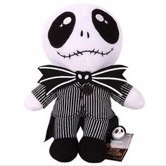 Nightmare Before Christmas Jack Skellington Plush Stuffed Doll