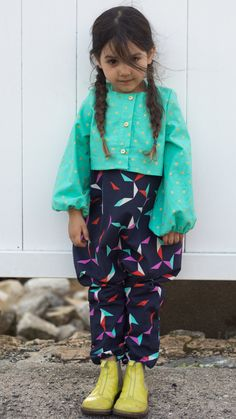 The House of Brooklyn Rascals - Olivia is wearing: Jumpsuit and cropped top from...