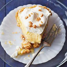 25 Classic Cream Pie Recipes | A slice of luscious chocolate, lemon, coconut, or fruity cream pie is the perfect ending to a casual summertime meal.