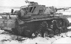 Pz IV destroyed in the Kharkov sector, 1943