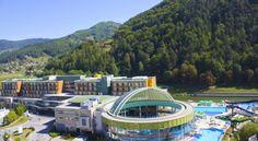 Hotel Thermana Park Laško**** Superior Laško Situated in the middle of a quiet park beside the Savinja River, Hotel Thermana Park Laško offers a thermal centre with free Wi-Fi throughout the property and air-conditioned rooms with LCD TVs. Free public parking is available on site.