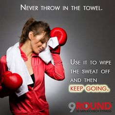 """We call it """"sweat therapy"""" for a reason! Come see for yourself TODAY!  9Round in Northville, MI is a 30 minute full body workout with no class times and a trainer with you every step of the way! Visit www.9round.com/fitness/Northville-Michigan or call (734) 420-4909 if you want to learn more!"""