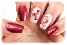 Nail Art by Belegwen: A England Rose Bower & Iseult, Layla 53