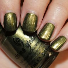 China Glaze Hunger Games Agro District 11