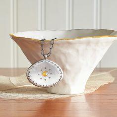 Golden Tara Star Necklace - Golden Tara is called Kanakavarnatara, She who is Giver of Supreme Virtue.