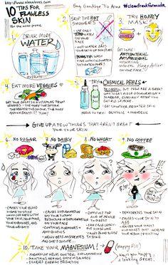 10 tips for flawless skin #adultacne #skincare #acneprone #acne #cleanfreakformula