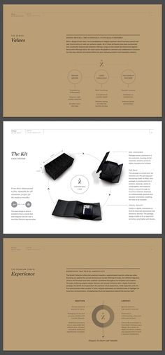 Zenith Premium Travel Kits - New Zealand by Veronica Cordero, via Behance. Simple, straightforward.