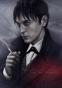 The #Gotham fandom is full of mad talent. Here's a young, pretty Oswald from dwaroxxx on tumblr for @robinlordtaylor.