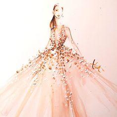 Elie Saab Oscar dress