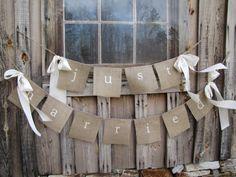 Crafty wedding decorations