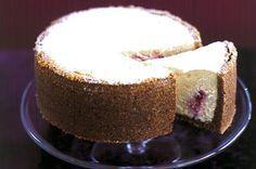 Raspberry & white chocolate cheesecake