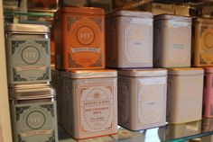 Is your Mom a tea connoisseur? We carry a wide variety of Harney & Sons gourmet and fine teas.  Available at Endless Ideas Interiors #EndlessIdeas