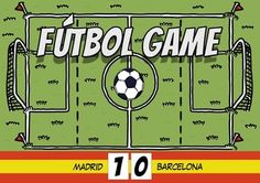 Fútbol Game - Your kids will love revising vocabulary with this game !