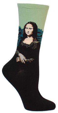 http://sockdrawer.com/collections/art-socks/products/mona-lisa-socks